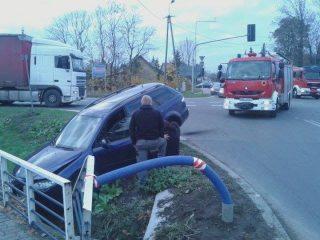 Zderzenie na skrzyżowaniu DK nr 7 i Warszawskiej