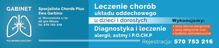 gabinet pulmonologiczny Mława