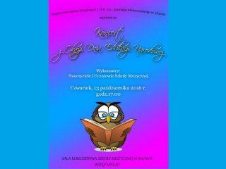 Koncert z okazji Dnia Edukacji Narodowej w szkole muzycznej