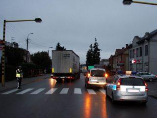 73 – letni mężczyzna potrącony na ulicy Sienkiewicza