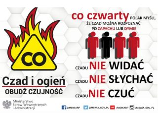 Kampania społeczna – Czad i Ogień – Obudź Czujność