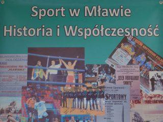 """Wystawa """"Sport w Mławie"""" w Muzeum Ziemi Zawkrzeńskiej"""