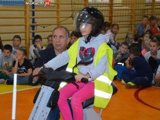 Akademia bezpiecznej jazdy w mławskich szkołach podstawowych