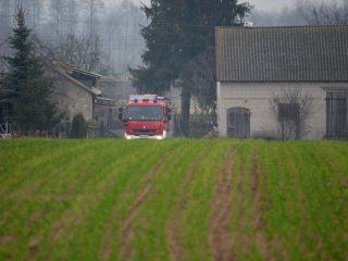 Morawy. Śmigłowiec LPR zabrał rannego mężczyznę do szpitala