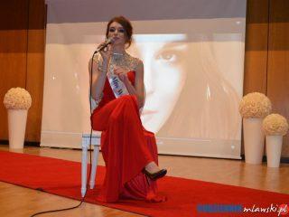 Miss World Poland 2016 Kaja Klimkiewicz wśród młodzieży z ZS nr 4
