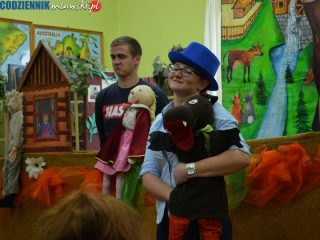 Teatr Lalek Pinokio w bibliotekach w Mławie i Wieczfni Kościelnej