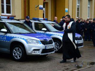 Nowe radiowozy mławskiej policji, w tym jeden z videorejestratorem