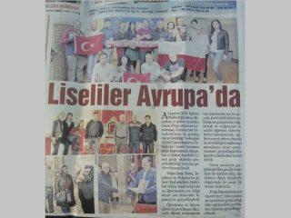 Piszą o nas w tureckiej prasie