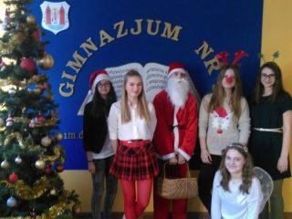 Święty Mikołaj w Gimnazjum nr 2