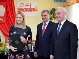 Nagrody dla najlepszych sportowców gminy Wieczfnia Kościelna