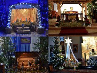Boże Narodzenie. Szopki w mławskich kościołach