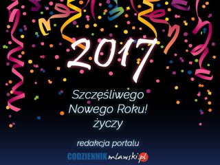 Naszym Czytelnikom życzymy szczęśliwego Nowego Roku!