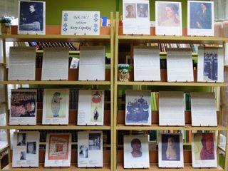 Wystawa poświęcona Sarze Lipskiej w miejskiej bibliotece