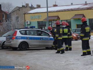 Kierowca odjechał mimo ulatniającego się z instalacji gazu