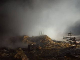 W Nowy Rok spłonęła stodoła w Gradzanowie Włościańskim
