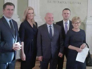Bożenna Horba wśród wyróżnionych pracowników KRUS