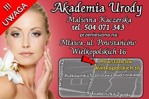 akademia urody malwina kaczerska mława ul. powstańców wielkopolskich 16 salon kosmetyczny