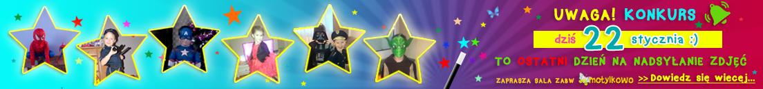 konkurs na najciekawsze przebranie dla dzieci sala zabaw dla dzieci motykowo mława codzienni mławski