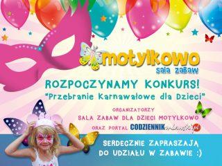 Rozpoczynamy konkurs Przebranie Karnawałowe dla Dzieci!