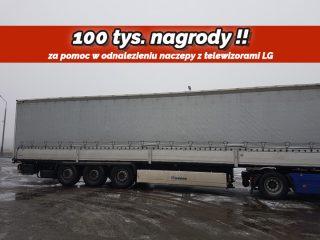100 tys.zł. nagrody za pomoc w ustaleniu sprawców kradzieży!