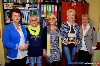 """Grupa """"Mława nas pozna"""" w Bibliotece Pedagogicznej"""