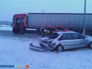 """Wypadek na skrzyżowaniu Padlewskiego i """"siódemki"""""""