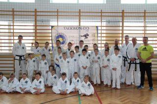 Adepci teakwondo zdali egzaminy, zdobyli nowe pasy