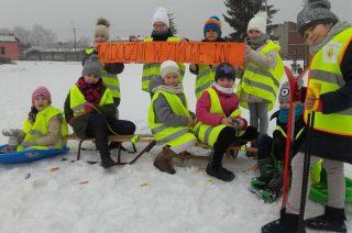 Odblaskowy Patrol widoczny nawet w zimowe dni