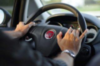 Nietrzeźwa  kobieta za kierownicą Punto w Radzanowie