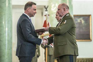 Nominacja gen. Jarosława Miki, zasłużonego dla Mławy