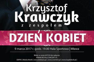 Krzysztof Krawczyk z zespołem wystąpi w Mławskiej Hali Sportowej