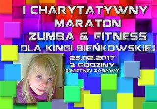 Dla Kingi… Charytatywny Maraton Zumba&Fitness