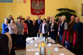 Inauguracyjne posiedzenie Mławskiej Rady Seniorów