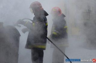 Strażacy nie próżnowali podczas minionego tygodnia