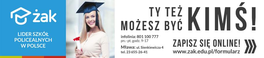 ŻAK lider szkoł policealnych w Polsce