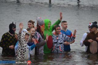 Nad Zalewem Ruda dzieci razem z morsami pożegnały zimę