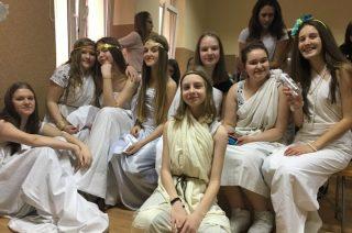 Szkolny Konkurs Mitologiczny dla pierwszaków w Gimnazjum nr 2