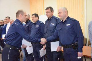 Awanse i nagrody w mławskiej policji
