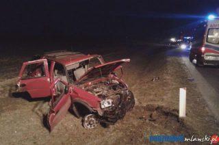 Cysterna i trzy samochody rozbite pod Mdzewem. Aktualizacja