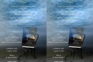 Wieczór autorski Marka Lisińskiego i wystawa Marii Kuczary