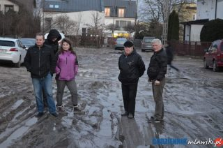Zapraszamy na ulicę M.Dąbrowskiej. Zalecamy założenie gumiaków