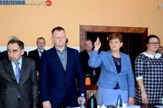 Bożena Rutkowska złożyła ślubowanie. Rada powiatu znów w komplecie