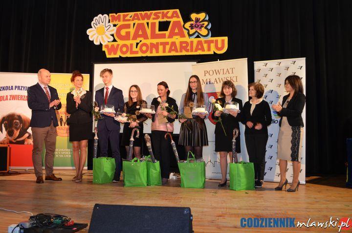 Gala Wolontariatu w Mławie po raz szósty