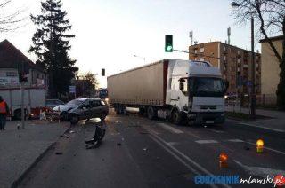 Wypadek na skrzyżowaniu Żwirki i Lelewela – AKTUALIZACJA
