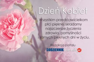 Najszczersze życzenia z okazji Dnia Kobiet!