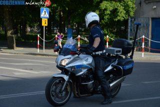 Weekendowe kontrole policji. Uwaga motocykliści