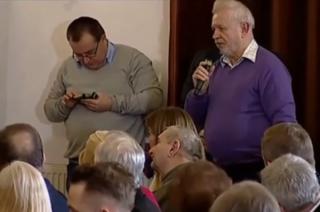 Mławianin na spotkaniu z premier Szydło w Pułtusku