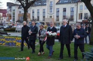 Mława. Obchody siódmej rocznicy katastrofy pod Smoleńskiem