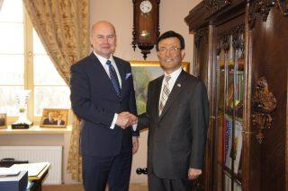 Ambasador Republiki Korei z wizytą w Mławie