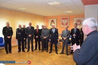 Świąteczne spotkanie zarządu oddziału powiatowego ZOSP